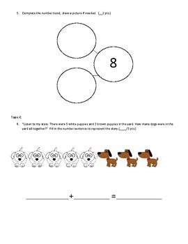 Kindergarten Eureka Math Mid-Module 4 Assessment