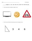 Kindergarten Eureka Math Module 2 Assessment