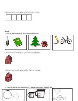 Kindergarten Eureka Math Module 3 Mid Module Assessment