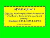 Kindergarten Eureka Math Module 4 Lessons 1-10