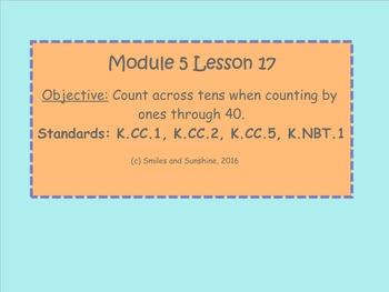 Kindergarten Eureka Math Module 5 Lessons 17-24