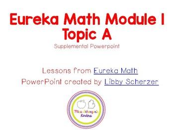 Kindergarten Eureka Math Supplemental Powerpoint- Module 1, Topic A