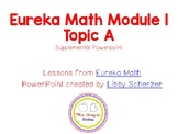 Kindergarten Eureka Math Supplemental Powerpoint- Module 1, Topic A