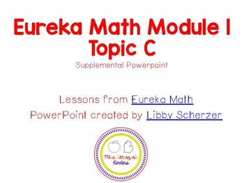 Kindergarten Eureka Math Supplemental Powerpoint- Module 1, Topic C
