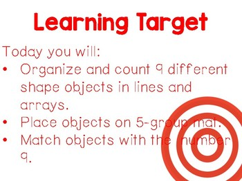 Kindergarten Eureka Math Supplemental Powerpoint- Module 1, Topic F