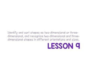 Kindergarten Eureka Math Supplemental Powerpoint- Module 2, TopicC LESSON 9 ONLY