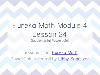 Kindergarten Eureka Math Supplemental Powerpoint- Module 4, Lesson 24