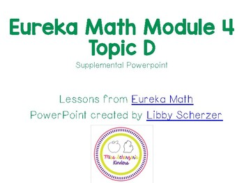 Kindergarten Eureka Math Supplemental Powerpoint- Module 4