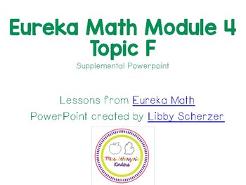 Kindergarten Eureka Math Supplemental Powerpoint- Module 4, Topic F