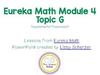 Kindergarten Eureka Math Supplemental Powerpoint- Module 4, Topic G