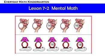 Kindergarten Everyday Math 7.2