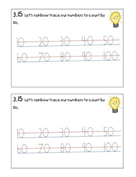 Kindergarten Math Journal  3