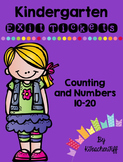 Kindergarten Exit Tickets: Counting 11-20