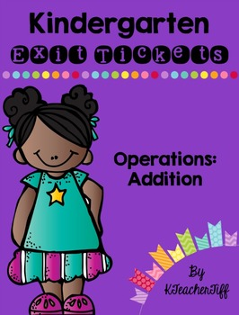 Kindergarten Exit Tickets: Addition
