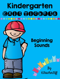 Kindergarten Exit Tickets: Beginning Sounds
