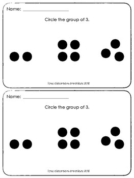 Kindergarten Exit Tickets Bundle (Everyday Math)
