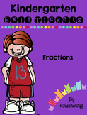 Kindergarten Exit Tickets: Fractions