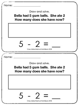 Kindergarten Exit Tickets Group 6 (Everyday Math)