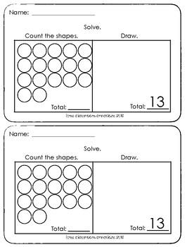 Kindergarten Exit Tickets Group 7 (Everyday Math)