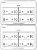 Kindergarten Exit Tickets Group 9 (Everyday Math)