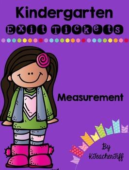 Kindergarten Exit Tickets: Measurement