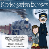 Kindergarten Express - Easy Prep Printable Activities & Games for Polar Express
