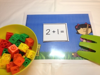 Kindergarten FALL LEAVES Math Centers and Literacy Centers Bundle