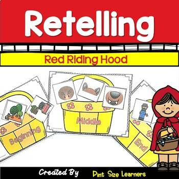 Little Red Riding Hood | Retelling | Story Sequencing