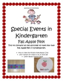 Kindergarten Fall Apple Fest