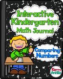 Interactive Kindergarten Math Journal: Comparing Numbers