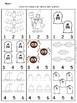 Kindergarten Fall/Halloween Math Worksheets - *No Prep*