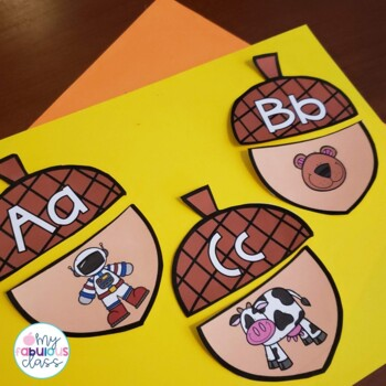 Kindergarten Fall Harvest Word Work