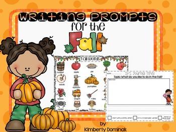 Kindergarten Fall Journals