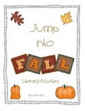 Kindergarten  Fall Literacy Activities