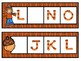 Kindergarten Fall Literacy Center - Missing Letter
