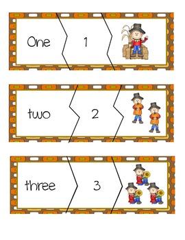 Kindergarten Fall Match-ups