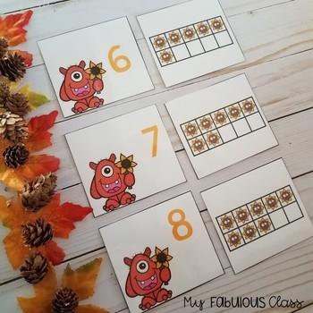 Kindergarten Fall Math