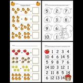 Kindergarten Fall Math Activities