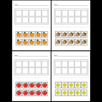 Kindergarten Fall Math Activities