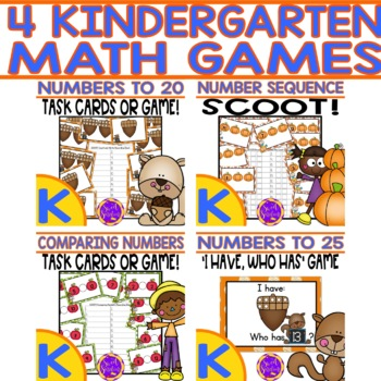 Fall Number Games