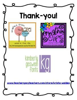 Kindergarten Fall Progress Report for Parent Teacher Conferences