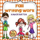 Kindergarten Fall Writing