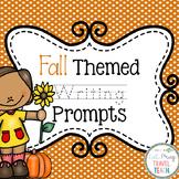 Kindergarten Fall Writing Prompts [Editable]