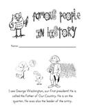 Kindergarten Famous Americans