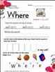 Kindergarten February Daily Work in Literacy and Math