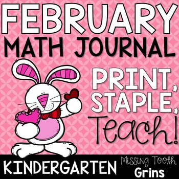 Math Journal February (Kindergarten)