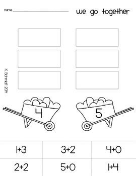 Kindergarten February No Prep Just Print!