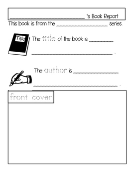 non fiction book report template teaching resources teachers pay