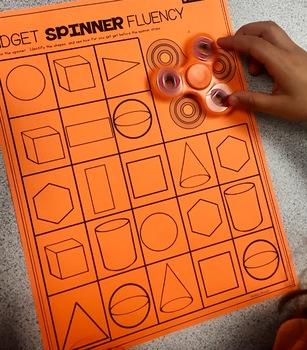 Kindergarten Fidget Spinner Fluency