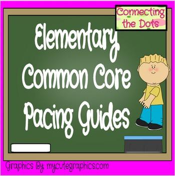 Kindergarten-Fifth Grade Common Core Planning Guide